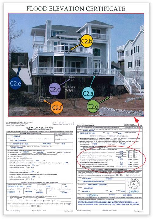 NJ FEMA Flood Elevation Certificates